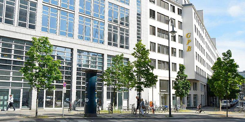 Gebäude der Schule in der Beuthstraße